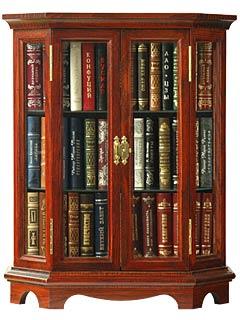 Миниатюрные книжные шкафы :: миниатюрная книга в подарок :: .